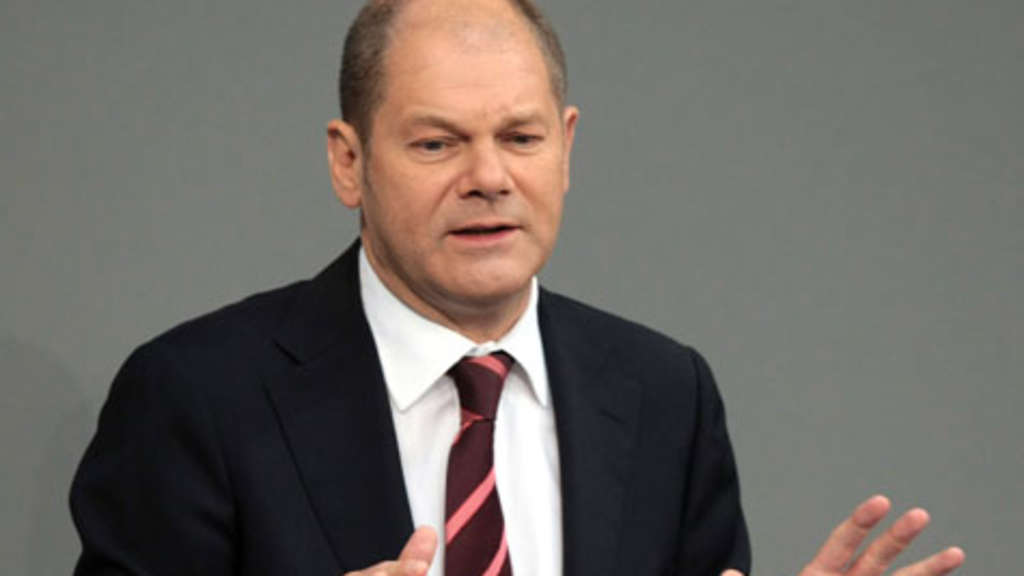 Arbeitsminister Olaf Scholz.
