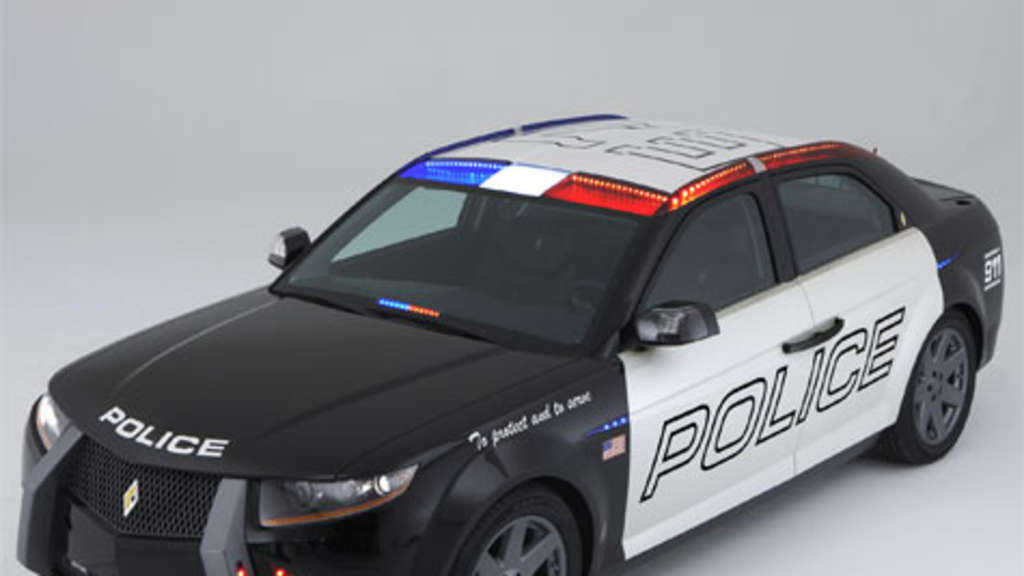 Carbon Motors E 7 Polizeiauto