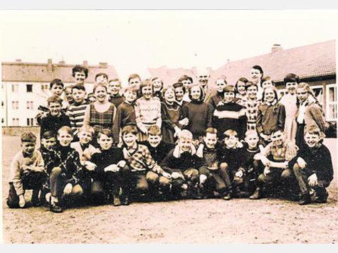 Volksschule Eddelstorf 1947 | Meine Klasse