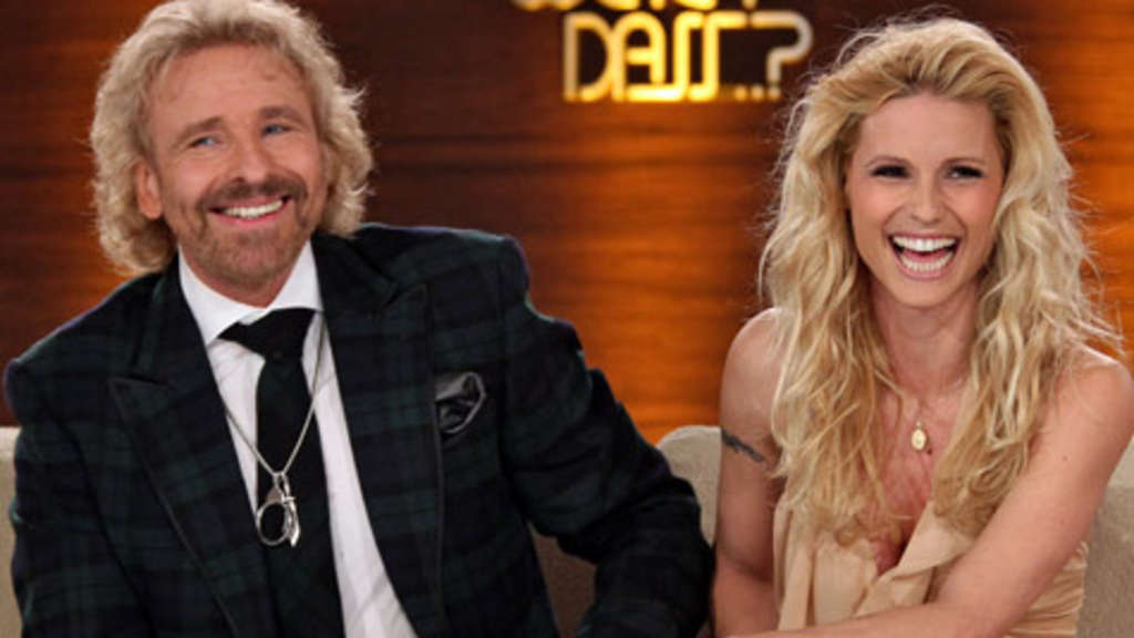Thomas Gottschalk Michelle Hunziker