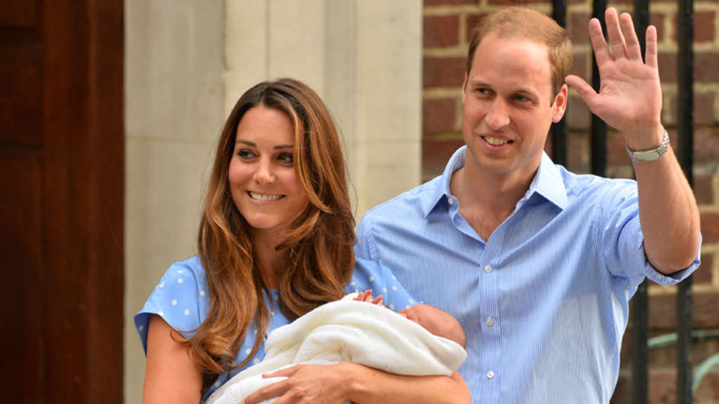 Prinz George Kate Middleton
