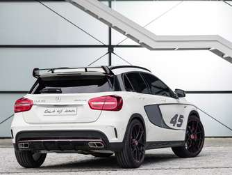 Mercedes GLA in der AMG Version