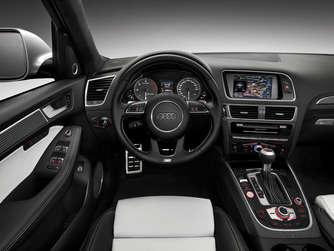 Audi SQ5 TDI Cockpit