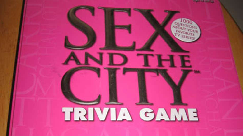 Löste bei den Polizisten Angst aus: Das Sex and the City Trivia Game.