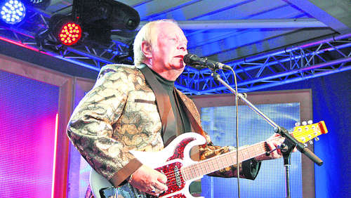 Graham Bonney rockte in Brietz