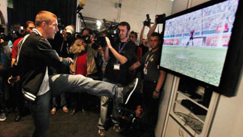 Kick it like Poldi: Die besten Bilder der Gamescom