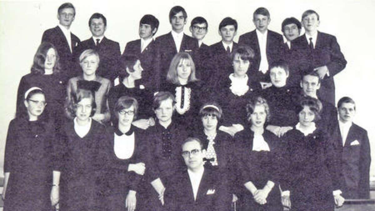 mittelpunktschule der mauritius schule in ebstorf im jahr 1969 stadt uelzen. Black Bedroom Furniture Sets. Home Design Ideas