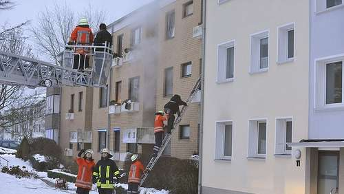 Wohnhausbrand in Bad Bevensen am 24.12.09