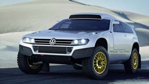 Gold in der Wüste: VW Touareg Showcars