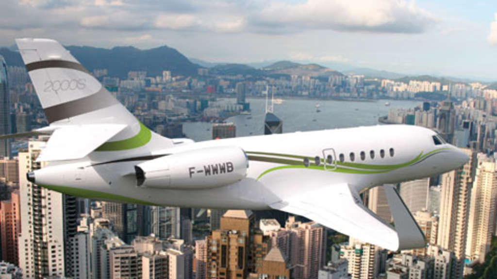 Falcon 2000S Business-Jet
