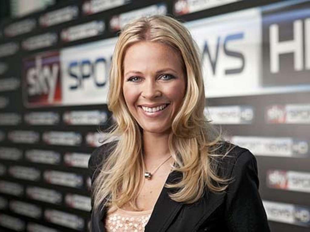 Moderatorinnen sky hd sport news Laura Papendick