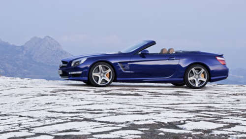 Mercedes SL: Luxus-Roadster mit 630 PS