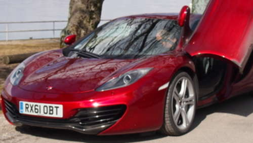 McLaren MP4-12C: Beflügelnder Supersportler
