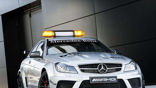 Das neue DTM Safety Car: Mercedes-AMG C-Coupé