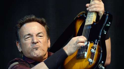 """The Boss"" Springsteen gibt legendäres Konzert"