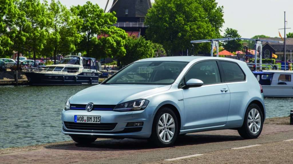 VW Golf TDI Blue Motion
