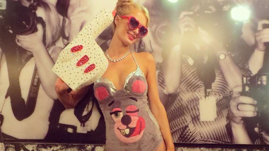 Paris Hilton, Miley Cyrus, Halloween-Kostüm