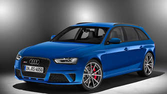 Blauer Power: Audi RS 4 Avant Nogaro selection