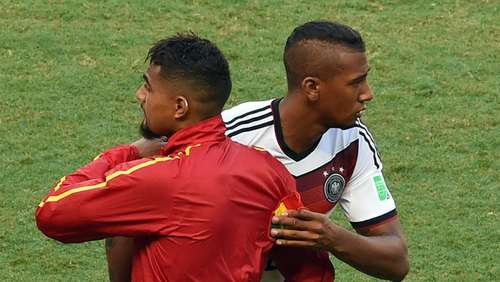 So verlief das Boateng-Bruderduell