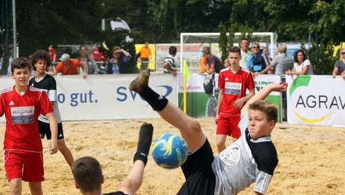 Beach Soccer Cup - die Junioren