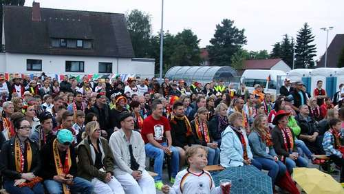 FINALE: Public Viewing in Wesendorf
