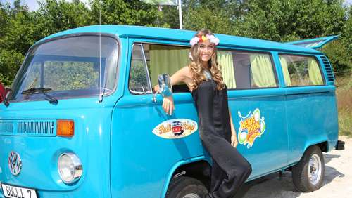 Flower-Power für Hippies auf Probe