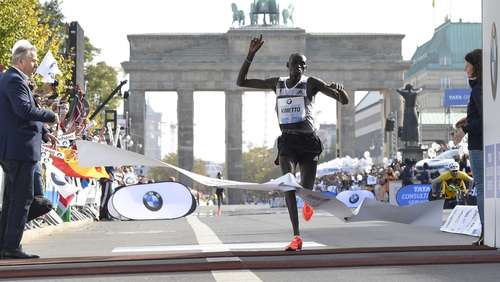 Kimetto mit super Marathon-Weltrekord in Berlin