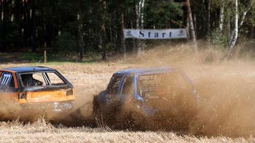 18. Stock-Car-Rennen in Gannerwinkel (Teil 2)