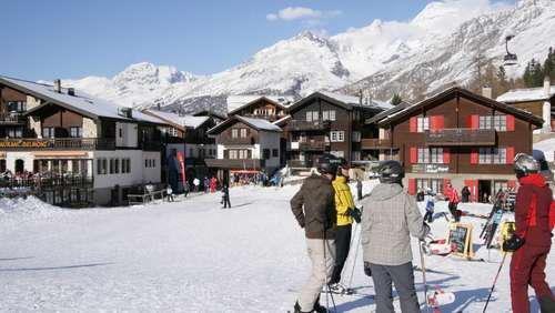 Last Christmas in Saas-Fee