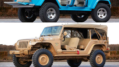 Coole Showcars von Jeep