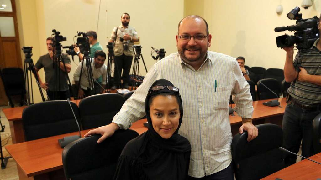 Jason Rezaian, Yeganeh Salehi, Journalist, Washington Post