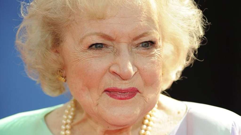 Betty White ist up to date. Foto: Paul Buck