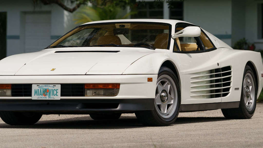 1986 Ferrari Testarossa Miami Vice Hero Car