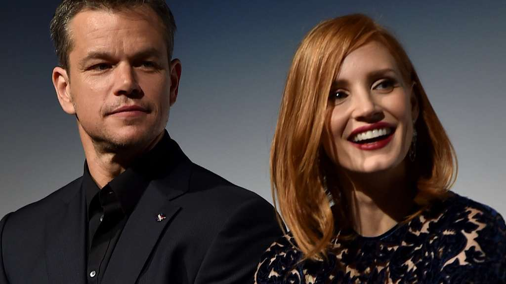 Matt Damon, Jessica Chastain
