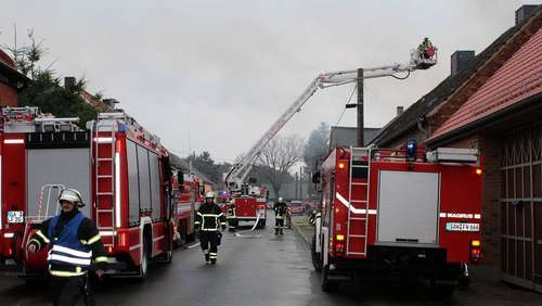 Schuppenbrand in Solpke