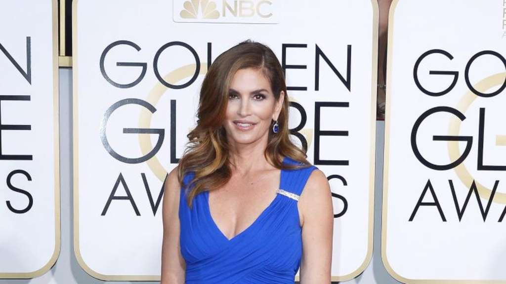 Cindy Crawford bei der Golden Globe-Verleihung 2015. Foto: Paul Buck