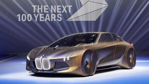 Der BMW Vision Next 100