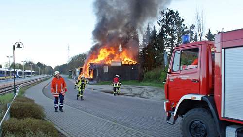 Großbrand in Bad Bodenteich: