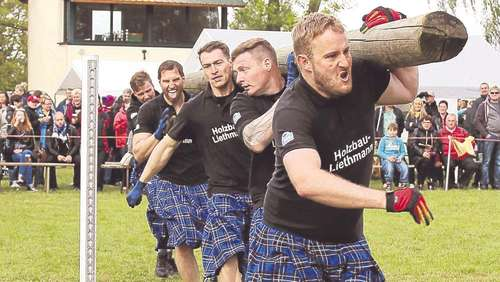 Highland-Games: Echte Kerle in Röcken