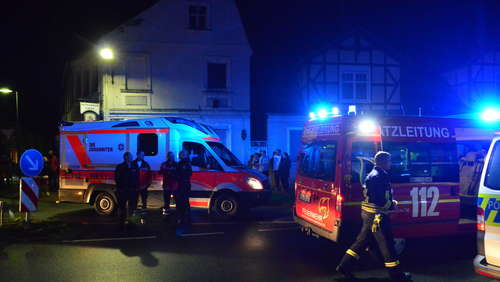 Bismark: Kellerbrand im Therapiezentrum