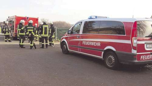 Einsatz in Jerchel: Gastherme in Brand