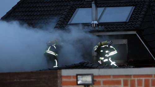 Dachstuhlbrand in Wittingen
