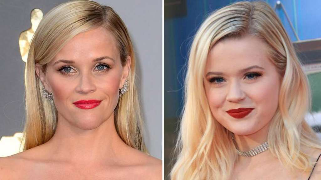 US-Schauspielerin Reese Witherspoone (l,) und ihre Tochter Ava Phillippe sehen sich sehr ähnlich. Fotos: Mike Nelson/Nina Frommer Foto: Mike Nelson, Nina Frommer