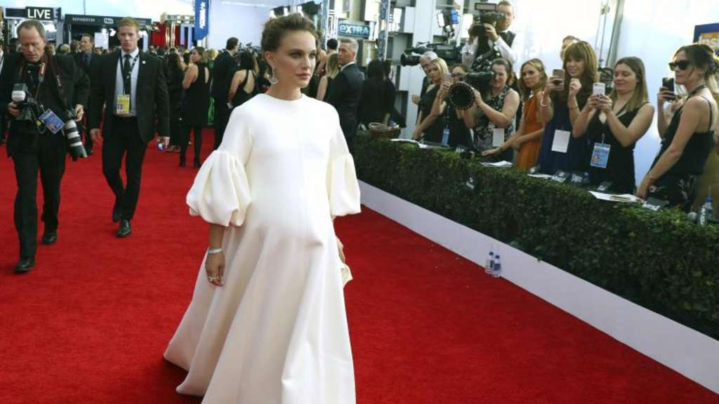 Natalie Portman bei der Verleihung der 23. Screen Actors Guild Awards in Los Angeles. Foto: Matt Sayles