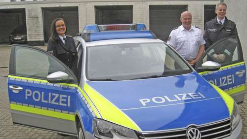 Kameras in Polizeiautos