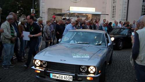 Rallye-Stop in Gifhorn