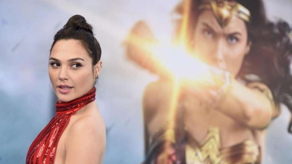 "Gal Gadot in Los Angeles bei der Weltpremiere des Films ""Wonder Woman"""