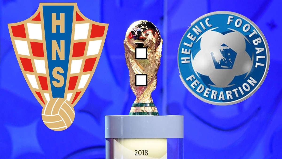 Kroatien Griechenland Fussball