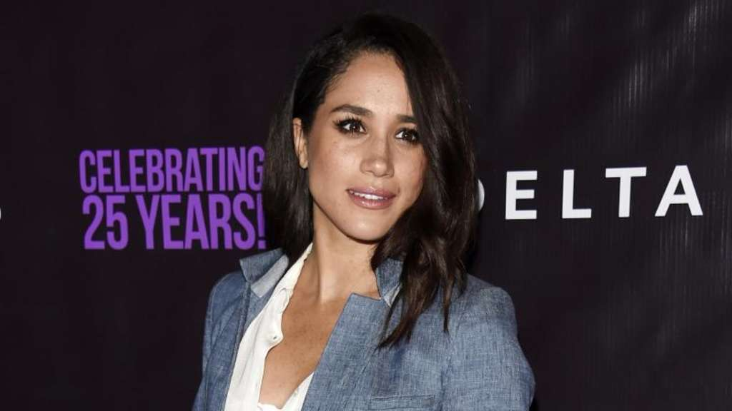 US-Schauspielerin Meghan Markle 2016 bei einer Party in Los Angeles. Foto: Chris Pizzello