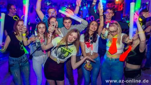Neon-Sensation im Flash-Club in Osterburg